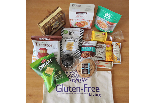 Gluten-Free Living Conference Snack Bag, Featuring Enjoy Life Plentils