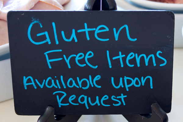 Gluten-Free Items Available Upon Request