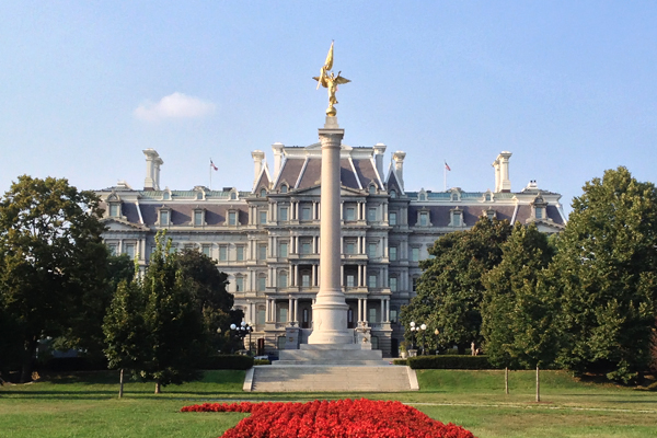 Old Executive Office Building and First Division Monument