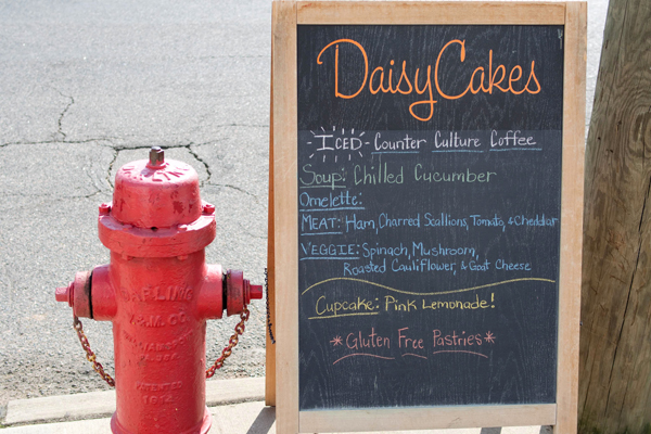 DaisyCakes in downtown Durham