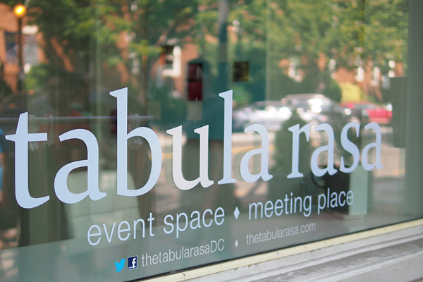 Tabula Rasa pop-up storefront