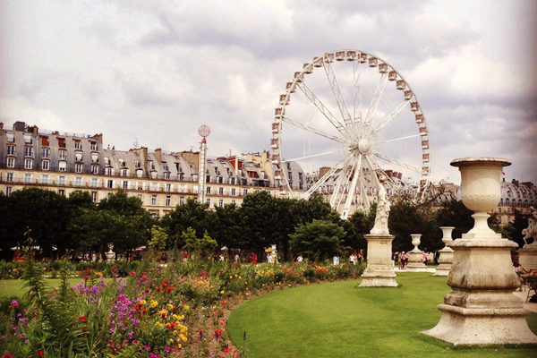 Tuileries Garden Ferris Wheel