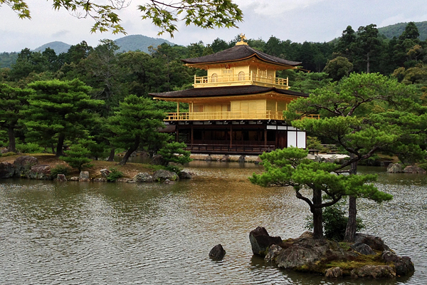 Kinkaku-ji and gardens