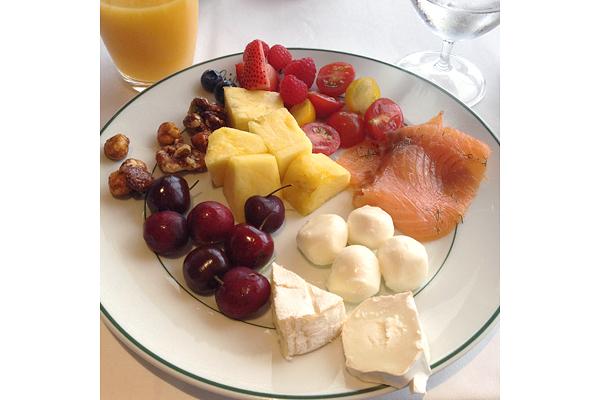 Gluten-free buffet options at Girandole