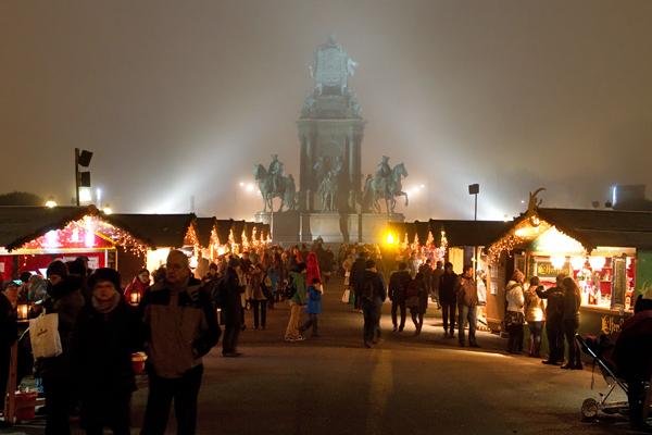 Maria-Theresien-Platz Christmas Market