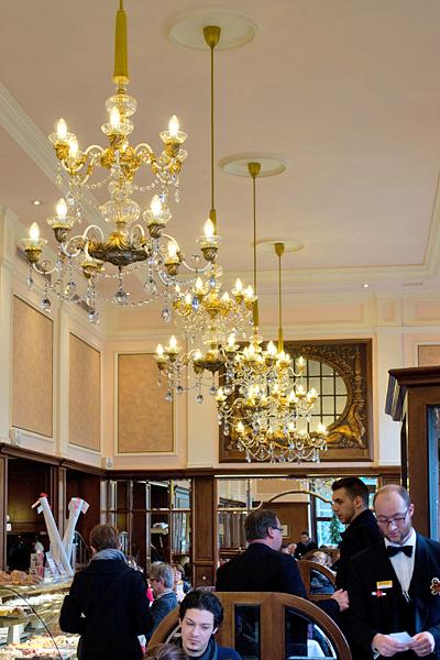 Café Mozart opulence