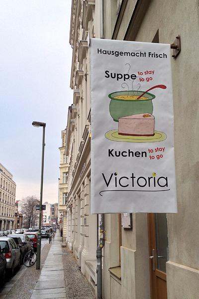 Victoria's storefront