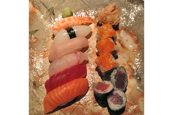 Sushi at Vox Restaurant
