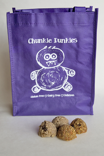 Chunkie Dunkies Raw, Vegan, Gluten-Free Cookies