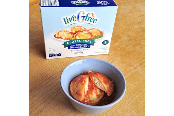 Aldi liveGfree gluten-free cheese ravioli