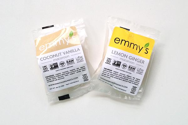 Emmy's gluten-free snacks