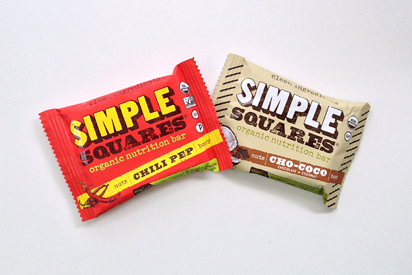 Simple Squares gluten-free snacks
