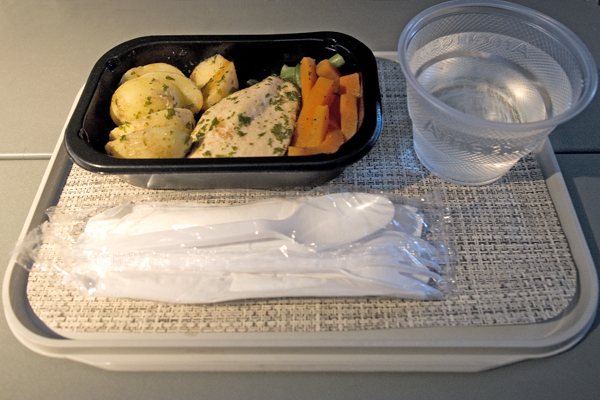 American Airlines gluten-free meal