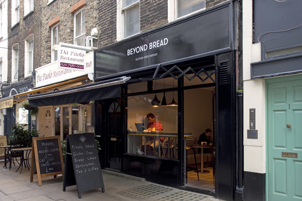 Beyond Bread London gluten-free