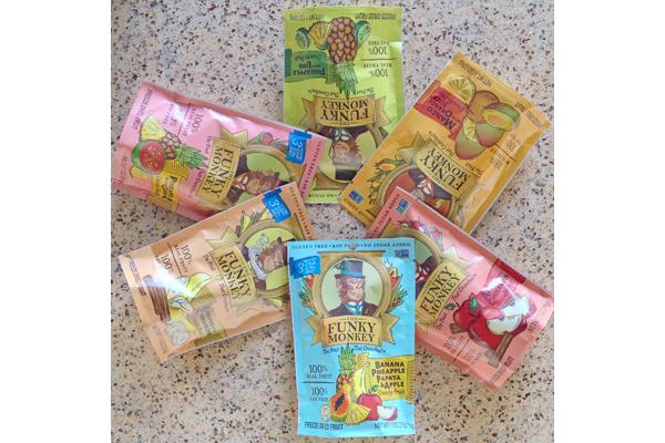Funky Monkey Expo West top gluten-free sweet snacks