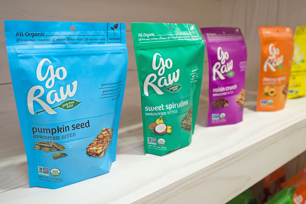 Go Raw Expo West top gluten-free sweet snacks