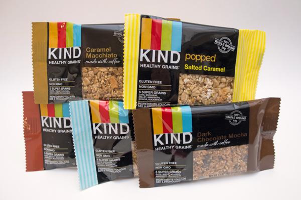 KIND Expo West top gluten-free sweet snacks