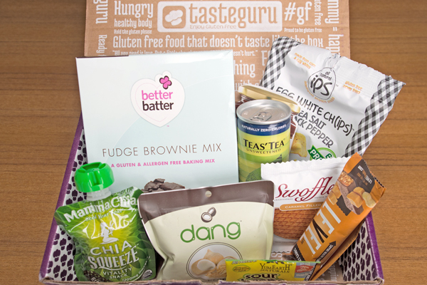 Taste Guru gluten-free subscription box
